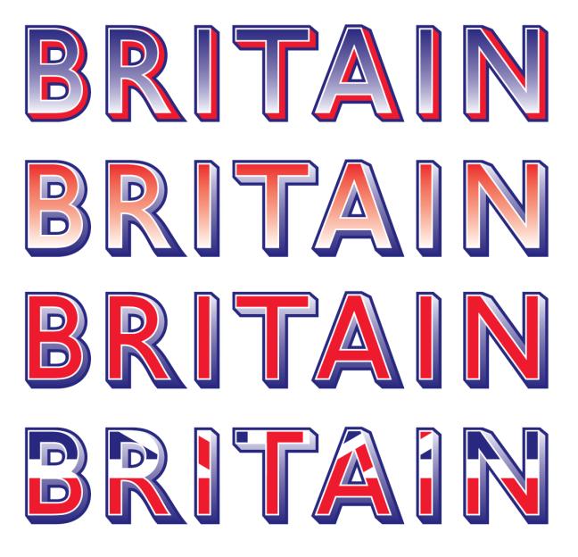 Britain tricolour