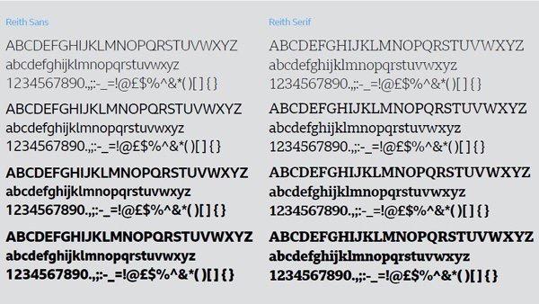 BBC Reith Sans & Serif